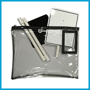 Table Top Dry-Erase Sign Set with Bag