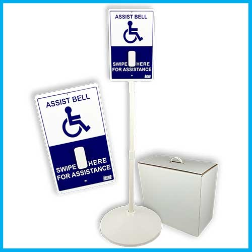 Assist Bell<sup>&reg;</sup> Sign Set<br>Affordable. Accessible. All votes matter.</br>