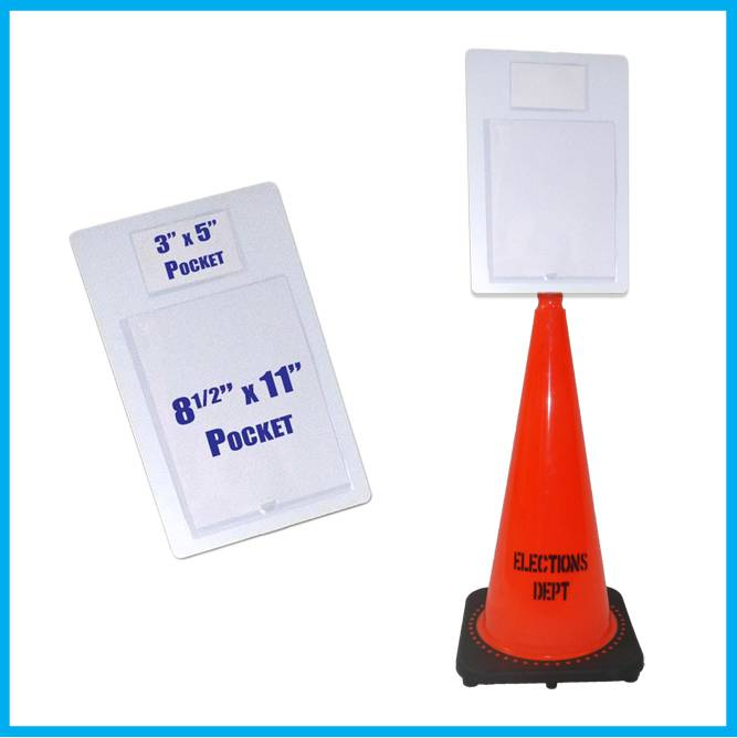 Pocket Plus™ Cone Sign Set