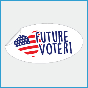 Future Voter Stickers