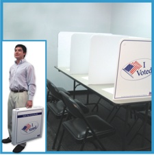 6 Table Top Voting Booths