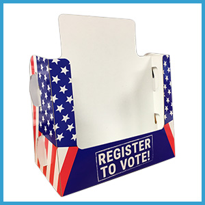Voter Registration Form Holders