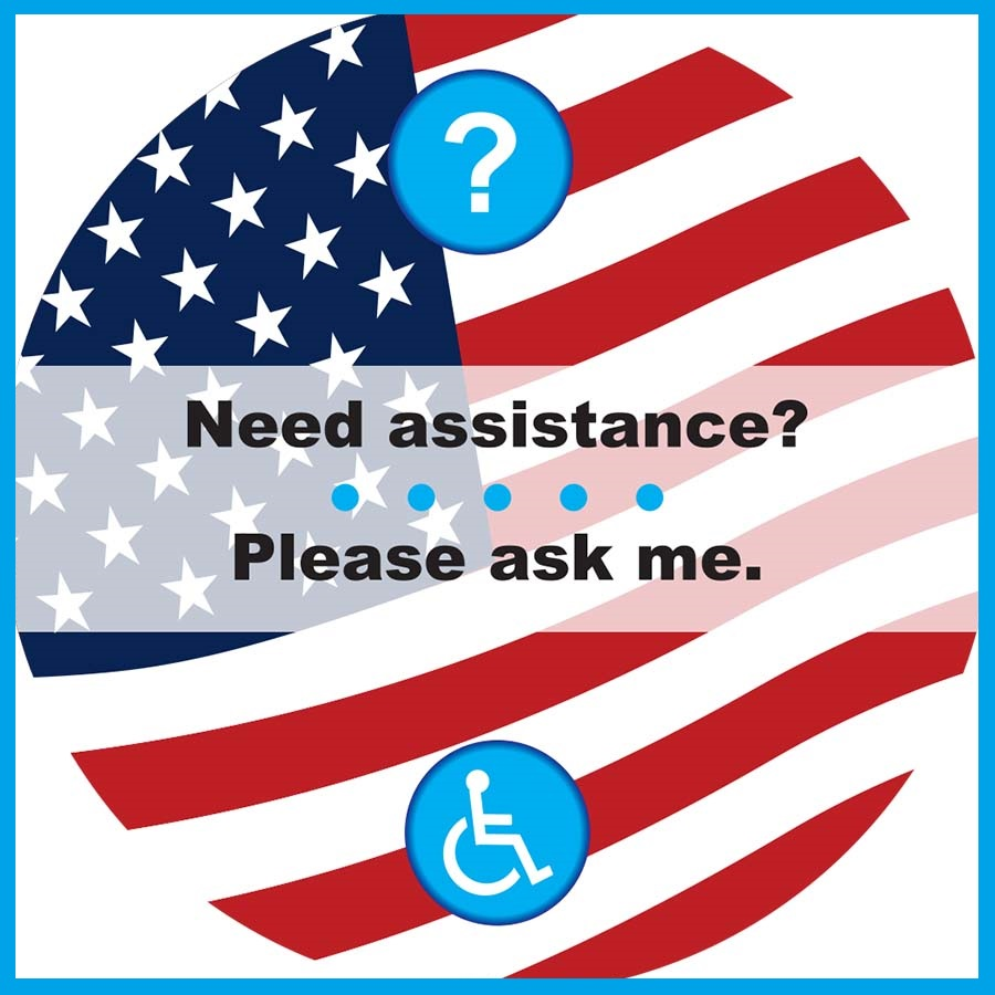 HCP Voter Assistance Buttons, 3